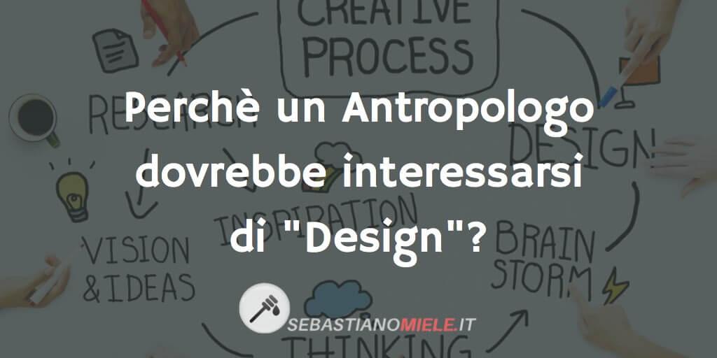 Antropologia e Design
