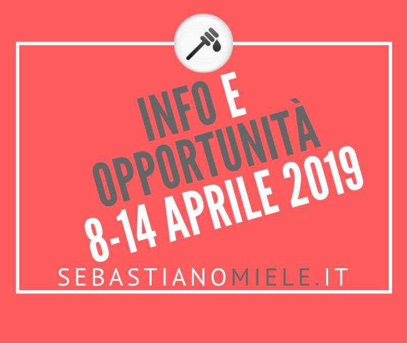 Newsletter 8 aprile 2019