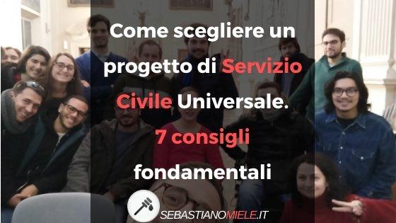 SERVIZIO CIVILE: COME SCEGLIERE? 7 CONSIGLI PER SCEGLIEREIL PROGETTO in ITALIA